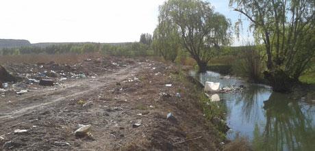 Alto grado de contaminación en el arroyo Salado - ADN (Argentina)
