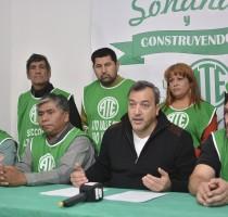ATE Conferenica de Prensa