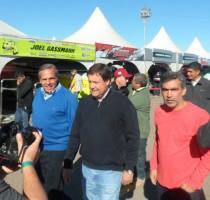 Facundo lopez, Jorge sapag y alberto  weretilneck