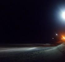 Iluminacion playa El Condor