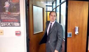 Viedma - 18-03-15 el juez penal fabio igoldi juez de la causa por presunto abuso de menores foto marcelo ochoa