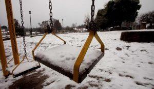 Nieve escuela
