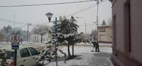nieve en Jacobacci