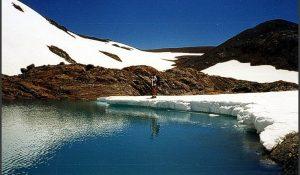 Hielo Azul, glaciar de El Bolsón